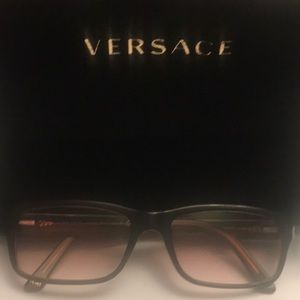 VERSACE EYEGLASSES MADE ITALY WITH CASE